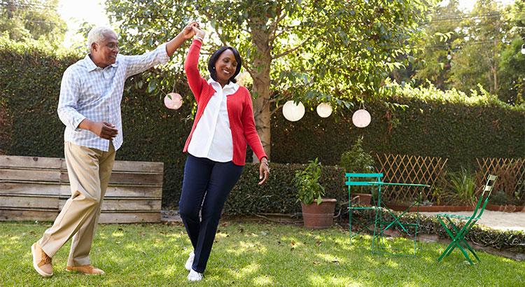 Happy home buyers